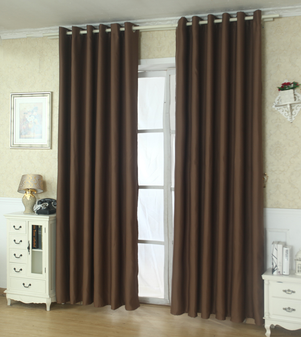 Buy Cheap Thermal Insulated Blackout 2 Panels Grommet Top