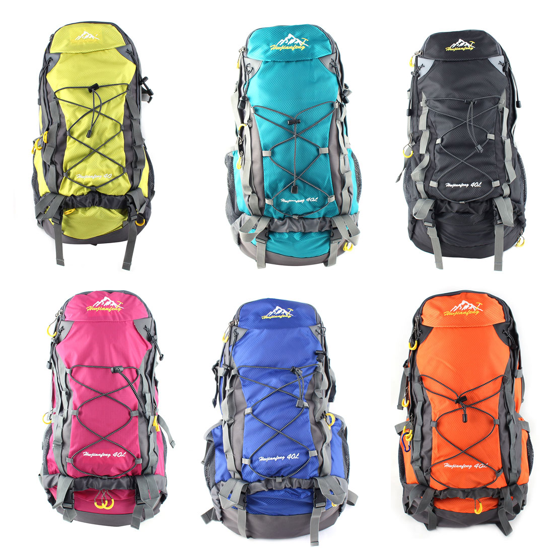 HWJIANFENG Authorized Outdoor Pack Water Resistant Sport Bag Hiking ... 504f5f66c