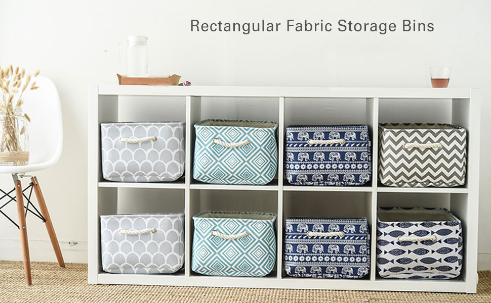 Perfect For Office, Nursery, Closet, Bedrooms, Bathrooms, Pantry, Desk,  College Dorm, Craft Area, And More, Storage Bins Are A Fun And Creative Way  To ...